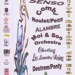Affiche du 1er Festival Régional des Etangs 2003