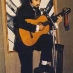 Sur la scène du Foyer des Bruyères (Bois-Colombes 1966-67
