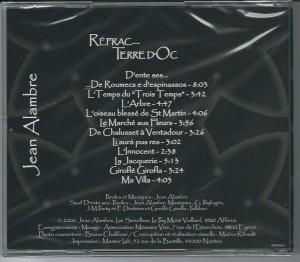 dos CD Réfrac... Terre d'Oc