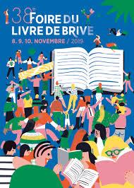 Foire du Livre de Brive-la-Gaillarde (19) du 8 au 10 Novembre 2019