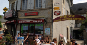 Marché de Noël - Café de Paris - Maison de la presse - Treignac (19)
