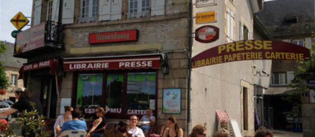 Marché de Noël – Café de Paris – Maison de la presse – Treignac (19)